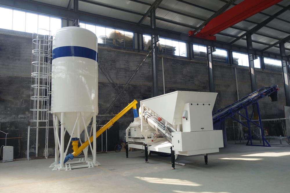 Mini Cement Plant : Ce concrete machine mini cement plant in construction