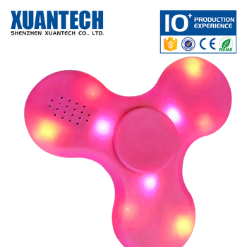 Hot Sale wireless and rechargeable led spinner, finger fidget, finger spinner