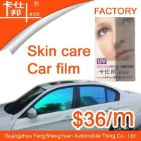 Many functions high UV rejection color change skin care car sticker for car
