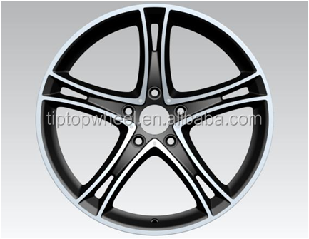 19 inch llantas Porsches replica rueda with pcd 5x120mm