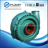 dredging coarse sands slurry pump on boat