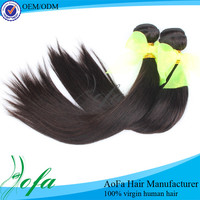 Unprocessed raw virgin brazilian straight aliexpress human hair