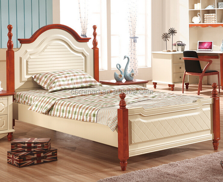 bed room furniture solid wood kids bed