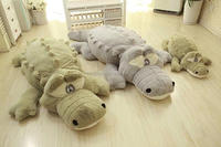 Hot selling special gift stuffed plush forest animal crocodile soft toy conform to CE