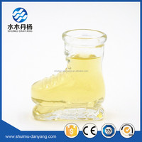 Decorative Shoes Glass drinking jar glass shoes bottle