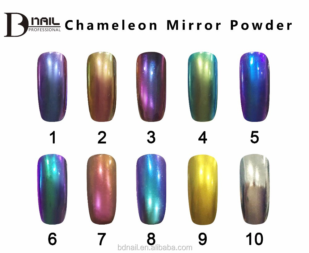 chrome powder factory wholesale professional mirror powder nail polish