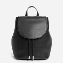 New Design Casual Genuine Natural Women Leather Backpack 2017