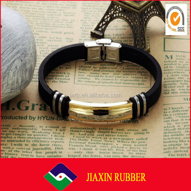Cool silicone bracelet/2014 new design promotional silicone wristband