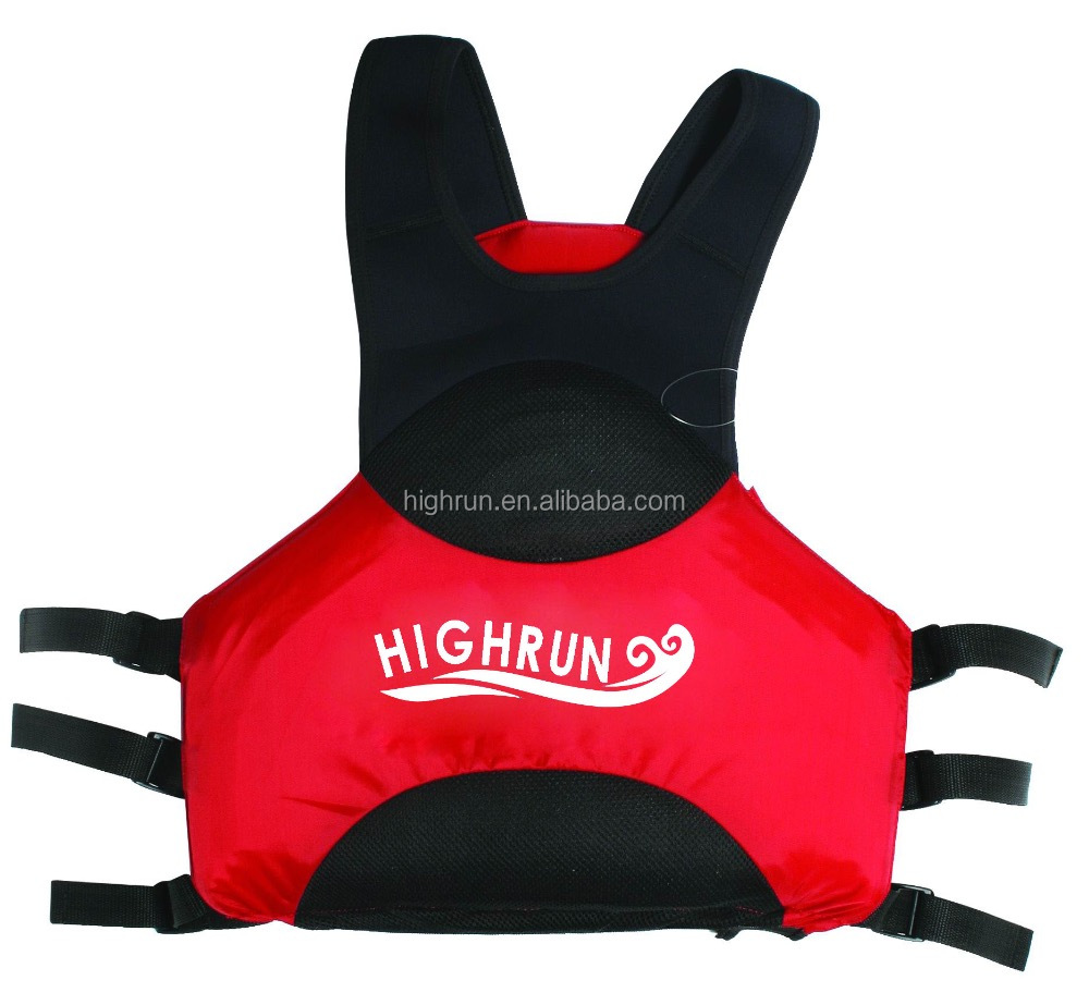 Custom Neoprene /Nylon +EPE foam Kayaks Life Jacket/Vest