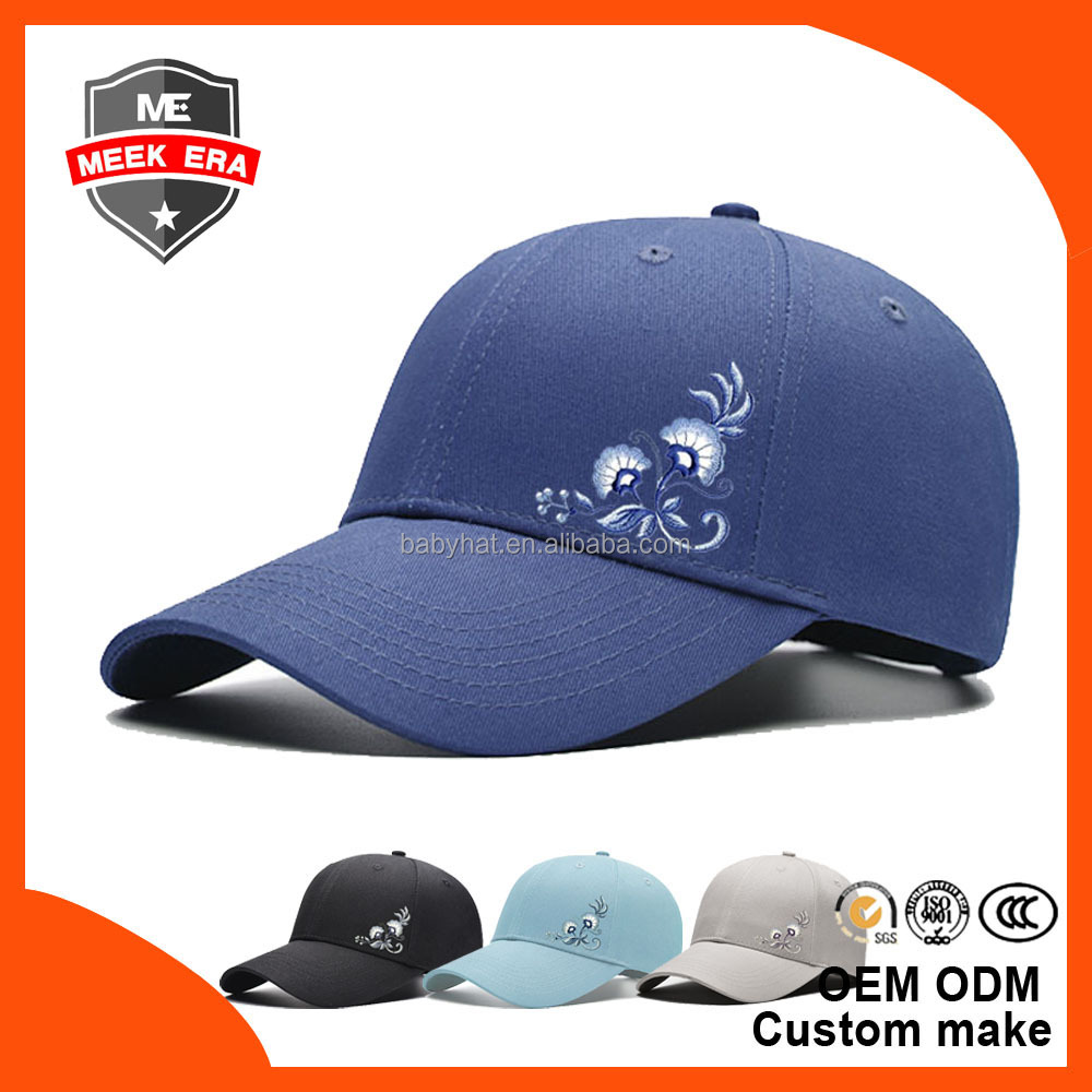 Custom fashion 3d embroidery dad hat new meek era gorras plain baseball cap