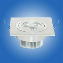 Huge discount dimmable led square downlight 3w 230LM+1 led driver CE ROHS FCC C-TICK approvaled