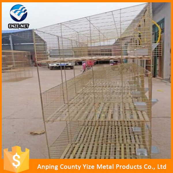 wholesale alibaba Vertical Type 3 Layer Cheap Rabbit Cage/3 story rabbit hutches