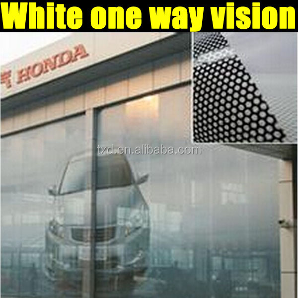 Vision 0 sticker - One Way Vision Perforated Film Glass Sticker Window Glass
