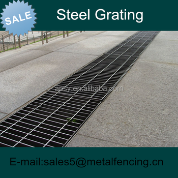 Galvanised steel grating Grill drain cover for sales