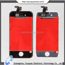 Mobile phone spare parts for Iphone 4S lcd touch screen with competitive price