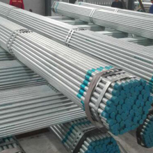 8 inch hot dipped galvanized steel pipes &tube