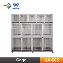 KA-505 Flat Packing Professional Modular Dog Cages with Solid Walls/Dog Kennel /Dog Crate