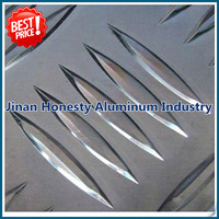 Competitive price 3003 h22 h23 grade aluminum tread plate for tool box