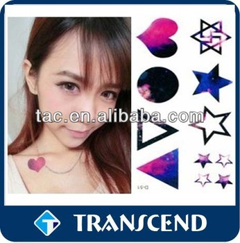 beautiful body temporary tattoo sticker /Tattoo Stickers For Adult Skin Temporary Tattoos