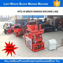Professional china brand wante interlocking clay block making machinery with high quality