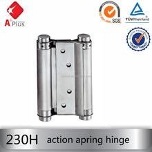 APLUS 230H stainless steel soft close double sided door hinge