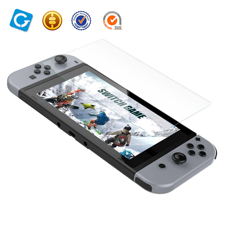 Tempered Glass for Switch Screen Protector with Premium HD for Nintendo Switch 2017 Anti-Fingerprint Film