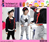 Black Fancy Cotton Boys Clothes Soft Material Cotton Boys Clothes