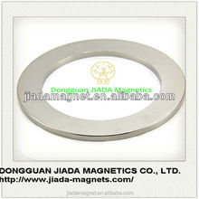 High Quality Rare earth large radial neodymium ring ndfeb magnets sale
