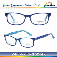 China Wholesale Classical eyeglasses 100% hot sale Acetate Optical Frames (5315)