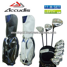 [Left hand golf club set] ACCUDIS golf AD-501 men's club set 11pc carbon shaft with caddy bag