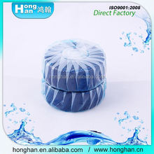 Unique Natural Products Lasting fresh Safe Solid block new style blue flash toilet bowl cleaner