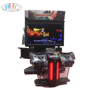 shooting game machines arcade haunted house game machine