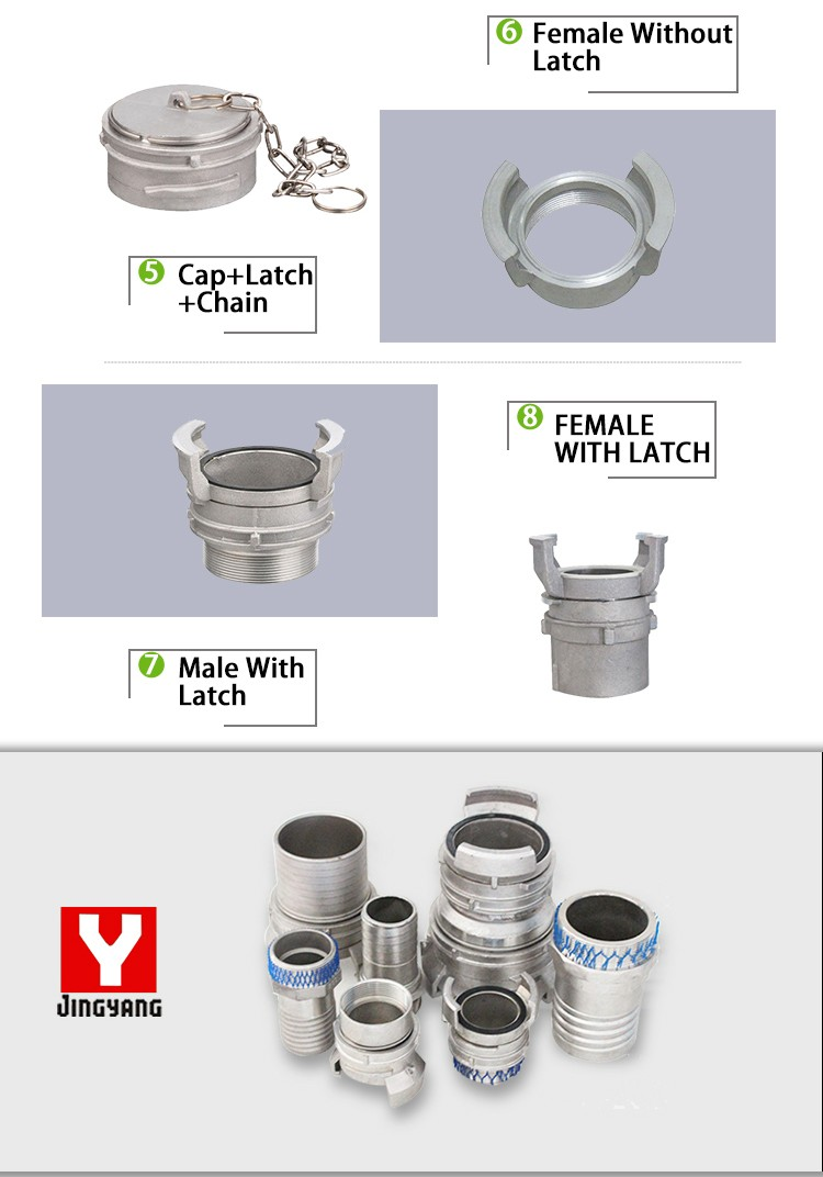 Hot sale stainless steel guillemin camlock coupling fitting
