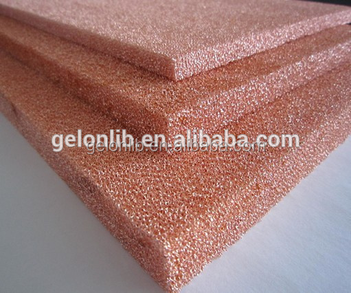Porous metal Foam Copper Foam for Open cell Research with best price made in China
