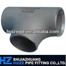 SS304l Stainless Steel Reducing TEE/Equal Tee sch 80s