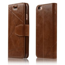 C&T Premium Protective Case Wallet Leather Flip Cases for Apple iPhone 6 6s 4.7 Inch