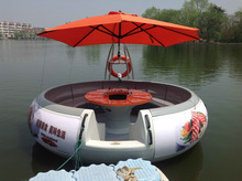 barbecue boat for fun bbq donut boat