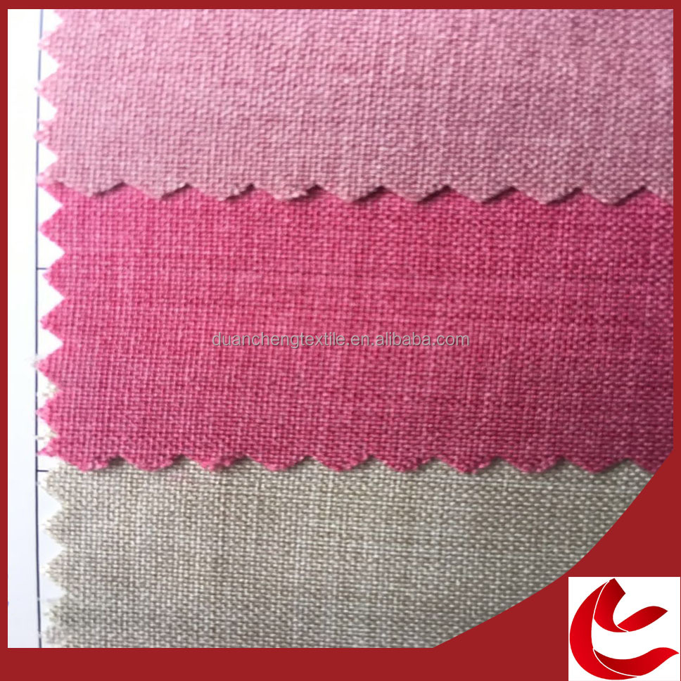 New design cheap plain woven spin hemp fabric for clothing