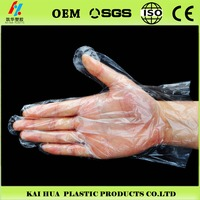 Environmental protection plastic Disposable PE Glove