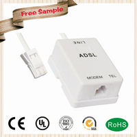 us08L adsl splitter modem connector shenzhen factory