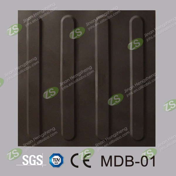 rubber studded tile,rubber tactile tile,rubber ceiling tiles