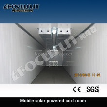 Highly efficient 20GP/40HQ Containerized Mobile Solar Powered Cold Room/movable cold room/solar power coold storage