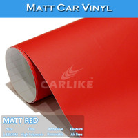 SINO Fast Shipping Matte Red Color Change Adhesive Vinyl Paper Rolls