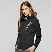 Women casual walking coats with air conditioning college softshell jacket