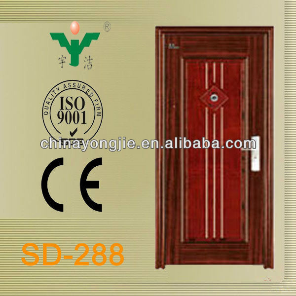 cheap new design foam filled steel iron gate door prices