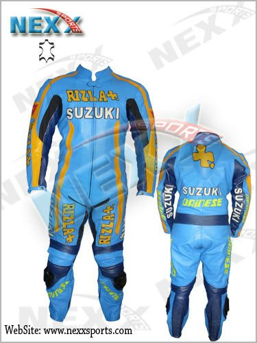 Rizla Suzuki MotoGP Race Rep Motorcycle 1 Pc Suit