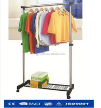 Foldable folding rotating clothes tree