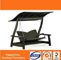 Garden leisure Rattan Indian Portable Outdoor Swing Set