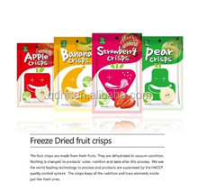 Freeze Dried Banana/Apple/Strawberry/Pear Crisps