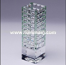 Hot selling Fashion New Design Crystal Flower Bottle Crystal Vase Crystal Glass Vase